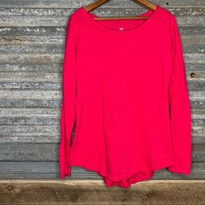 Southern tide pink knit top